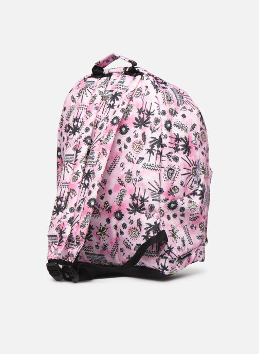 School bags Rip Curl DOUBLE DOME ANAK Pink view from the right